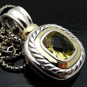 David Yurman Jewelry - David Yurman XL Yellow Citrine Necklace